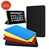 Fire HD 8 Case,Zerhunt Ultra Light Slim Fit Protective Cover with Auto Wake/Sleep For Fire HD 8 Tablet (2017/2016 Release,7th/6th Generation) Black