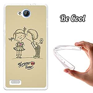 BeCool® - Funda Gel Flexible ZTE Blade G Lux Forever and Ever Carcasa Case Silicona TPU Suave