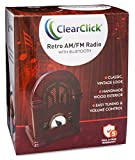 ClearClick Retro AM/FM Radio with Bluetooth