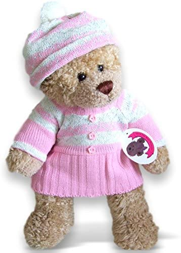 Teddy knitted dress and shoes | Teddy bear knitting pattern ... | 500x360