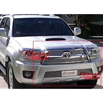 Amazon Aps Fits 2006 2009 Toyota 4runner Billet Grille Combo