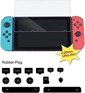 leegoal Nintendo Switch - Juego de Accesorios a Prueba de Polvo ...