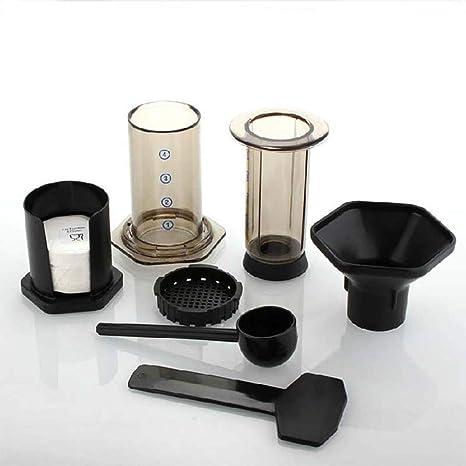 Huwaioury - Cafetera de café con filtro de cristal para cafetera ...