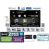 Kenwood DDX793 In Dash Double Din DVD Receiver with Bluetooth, HD Radio and SiriusXM Satellite Radio SXV300v1 and a FREE SOTS Air Freshener