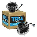 nissan titan wheels bearing rear - TRQ Front Wheel Hub & Bearing Pair Set For Nissan Armada Titan