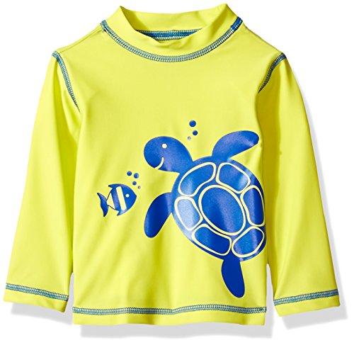 - Little Me Baby Boys' Long Sleeve Rashguard, Turtle, 24M