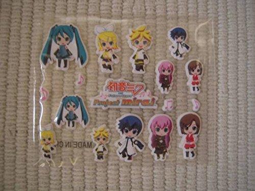 3DS 初音ミク and Future Stars  Project mirai ぷちぷくパック特典 ぷくぷくデコシールの商品画像