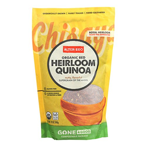 Alter Eco Americas Quinoa - Organic Red Heirloom - Case of 6 - 12 oz. by Alter Eco Americas