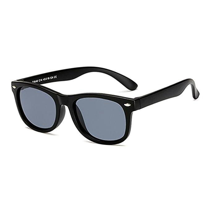 Gafas de sol Retro Polarizadas Clásicas para Bebés, Niños pequeños, Niños y Niñas de