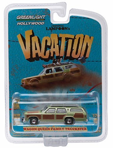 Greenlight Wagon Queen Family TRUCKSTER from The Classic 1983 Film National Lampoon's Vacation GL Hollywood Series 12 2016 Collectibles Limited Edition 1:64 Scale Die Cast Vehicle