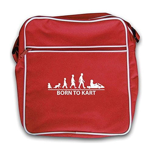 red To Retro Born Bag Red Flight Kart PxqnZR