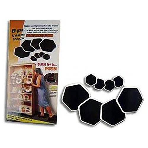 Sliding Robots Furniture Sliders(8 piece value pack) by Handy Trends (Sliding Robots compare prices)