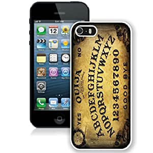Ouija Board White Fantastic Recommended Customized iPhone 5S Phone Case