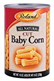 Roland Foods Baby Corn, Cut, 15 Ounce (Pack of 24)