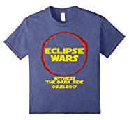 Funny Solar Elcipse T-Shirt Eclipse Wars Sci-Fi Totality Tee