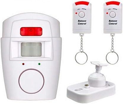 Sensor de Movimiento inalámbrico Alarma Detector de Seguridad Sistema de Alerta para Exteriores con Control Remoto para el Garaje en casa: Amazon.es: Electrónica