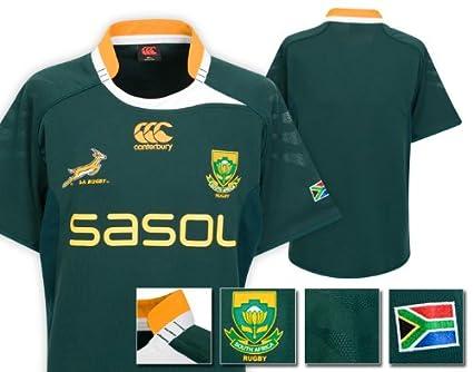 South Africa Springboks - Polo - para hombre Verde verde botella ...