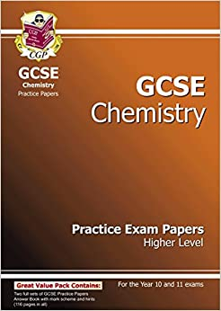 GCSE Chemistry Practice Exam Papers - Higher (A*-G course)