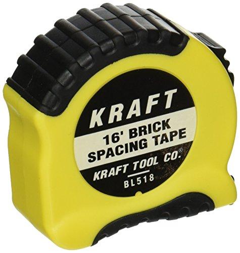 (Mason's Brick Spacing Tape Measure 16')