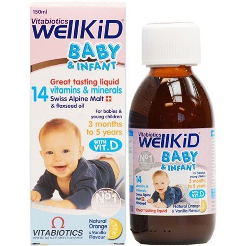 - Vitabiotic - Wellkid Baby Syrup | 150ml | BUNDLE by Vitabiotics