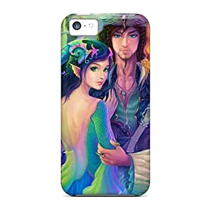 DdayX790psgPG Tpu Case Skin Protector For Iphone 5c Mermaid The Pirate With Nice Appearance