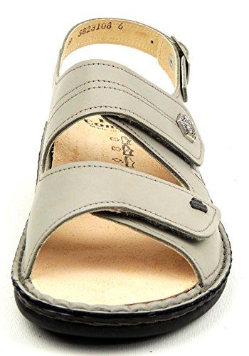 Finn Comfort - Sandalias de vestir de Piel para mujer Gris gris Gris - grey Diego