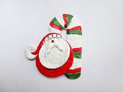 Cinlla Adornos de Cocina Santa Bastón de caramelo Imanes Para ...