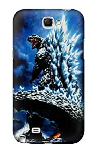 S1551 Godzilla Giant Monster Case Cover For Samsung Galaxy Note 2