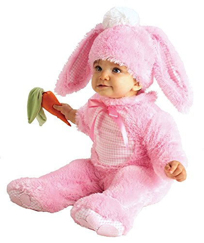 [UHC Baby's Precious Wabbit Bunny Rabbit Easter Newborn Infant Halloween Costume, 0-6M] (Halloween Costumes Rabbit)