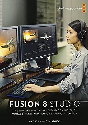 Blackmagic Design Fusion 8 Studio for Windows