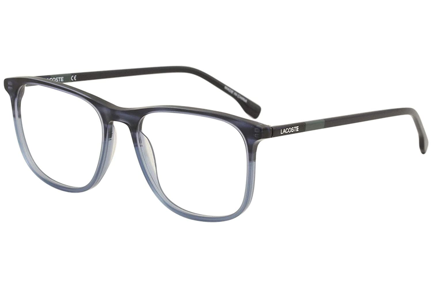 9676ad83dc Eyeglasses LACOSTE L 2823 424 BLUE at Amazon Men s Clothing store