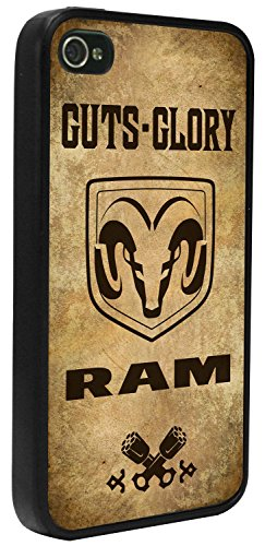 Gut Cases - Buckle-Down Cell Phone Case - GUTS-GLORY/RAM Logo/Pistons Weathered/Chocolate Brown - iPhone6 Plus
