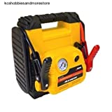 Car Battery Jumper Air Compressor Jump Start Charger Emer...