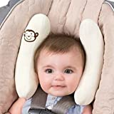 Baby Stroller Pillows Infant Car Seat Head & Neck Protection Pillow Bebe Boys Girls Soft Adjustable Head Support