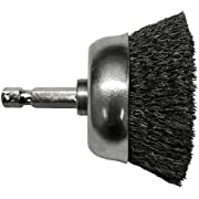 Century Drill and Tool Coarse Drill Cup Wire Brush