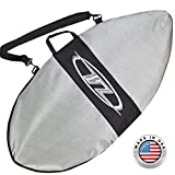 """48"""" Blue Wave Zone SE Carbon & Fiberglass Skimboard for Riders Up to 200 lbs - Complete with Traction Deck Grip"""