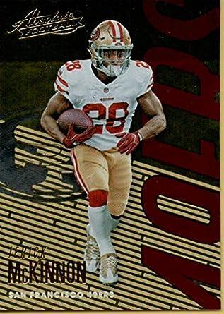 new styles ef0c3 6630f Amazon.com: Football NFL 2018 Absolute #87 Jerick McKinnon ...