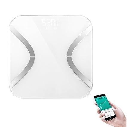 Escala de grasa, Stoga Digital Analizador de grasa corporal Balanza de baño Syncyour Datos de