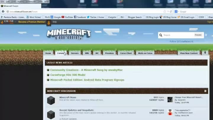 Minecraft China Website