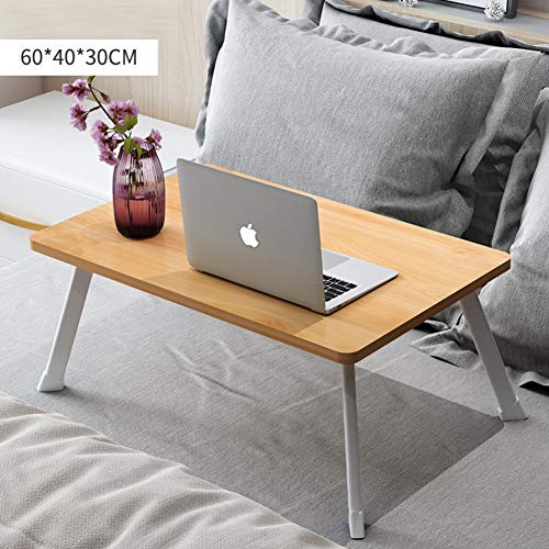Desk,Notebook Table Small Desk for Student Bed-H ()