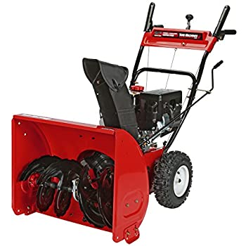 poulan pro 24 inch snow thrower manual