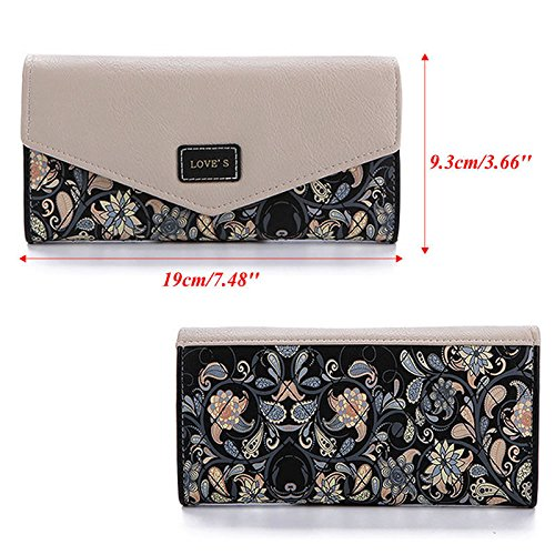NEW Designed Women Lady Leather Clutch Envelope Wallet Long PU Card Holder Case Purse Handbag Good quality