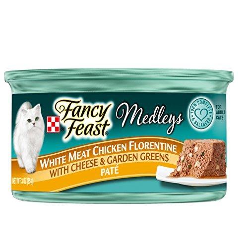 Fancy Feast Wet Cat Food, Elegant Medleys, White Meat Chicke