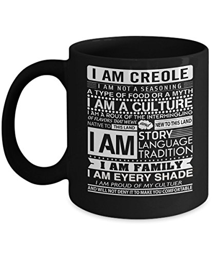 Haitian Mugs, I'm Creole Pride 11 oz - 15 oz Ceramic Coffee mugs, Tea cups - Funny Gift for family, friend on birthday, special event