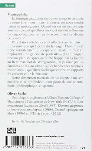 Musicophilia. La Musique, Le Cerveau Et Nous (French Edition)