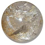Smoky Quartz Ball 66 Exceptional Clear Rainbow Gazing Sphere High Quality Healing Stone Collectible 2.6''