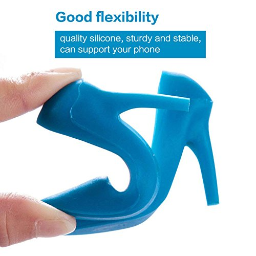 Talons Phone Support Silicone Iphone 2 Universal Cell De Pour Eqlef® Samsung Chaussures Bureau Holder Paires Haut gZYczWn1nS