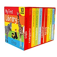 Deals on My First Library: Boxset of 10 Board Books for Kids