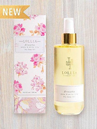 - Lollia Breathe Dry Body Oil Peony & White Lily