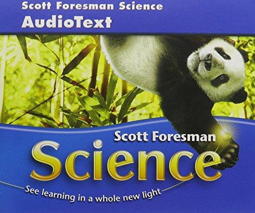 SCOTT FORESMAN SCIENCE 2006 AUDIOTEXT CD GRADE 4